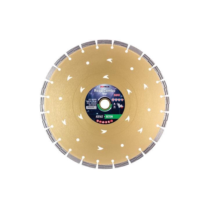 Disc diamantat asfalt/beton Diatech Road Combo Star