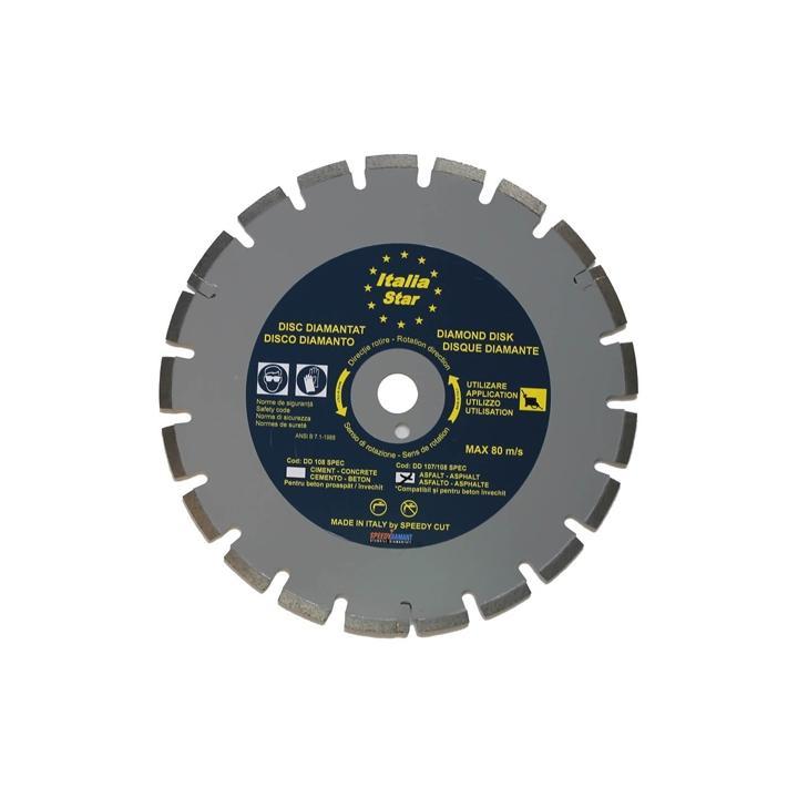 Disc diamantat pentru asfalt Italia Star 350 x 25.4 mm