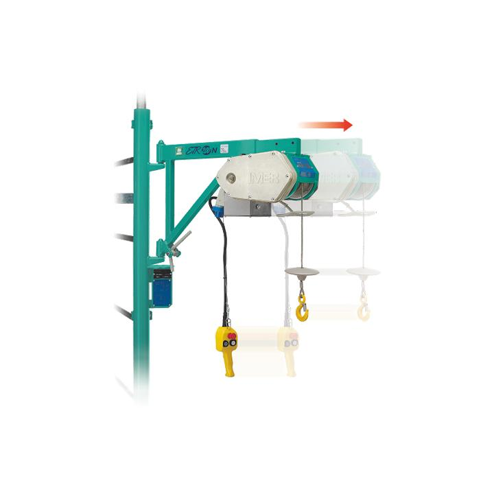 Electropalan Imer ETR 200 N, 750 W, Hmax 30 m, 200 kg