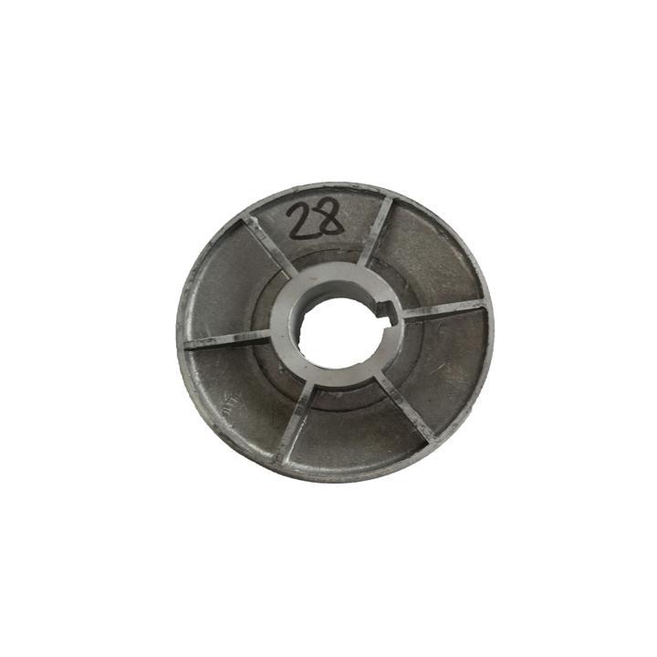 Fulie pentru motoare electrice 1 canal, ax 28 mm