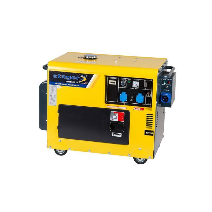 Generator de curent monofazat Stager DG 5500S+ATS