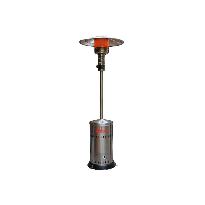 Incalzitor terase Zobo H1107, 12.5 kW, inox