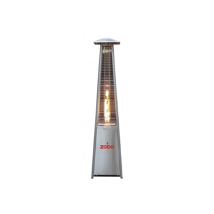 Incalzitor terase Zobo H1501, 11.2 kW, inox