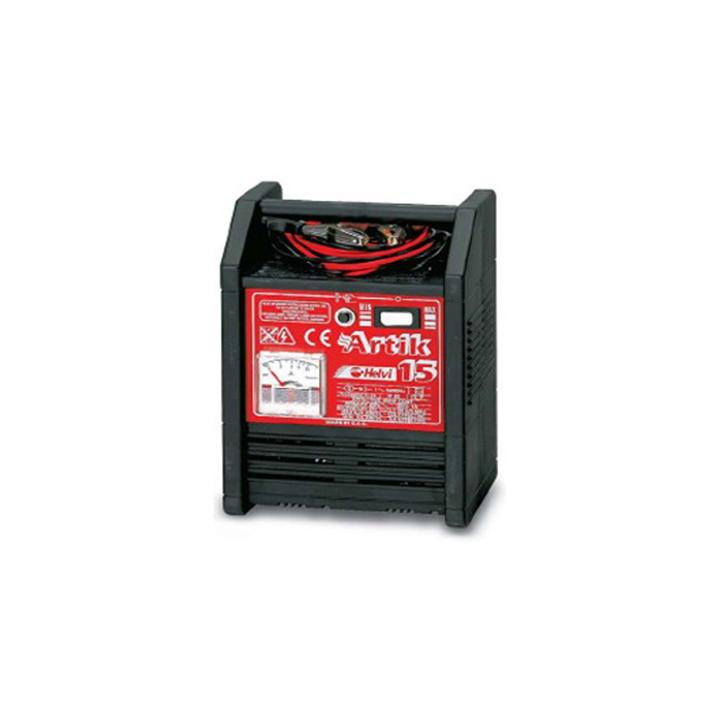 Incarcator baterii Helvi Artik 15, 230 V, 140 W, 12 V, 12 A