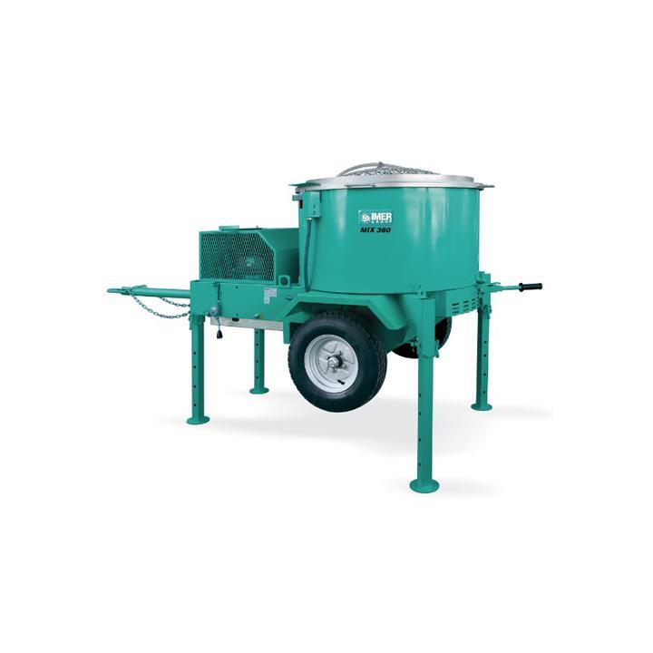 Malaxor Imer MIX 360, 400 V, 3 kW, 360 litri