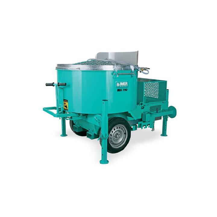 Malaxor Imer MIX 750, 400 V, 4 kW, 750 litri