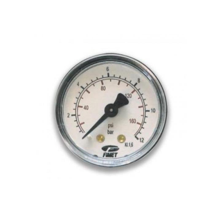 "Manometru posterior D63 mm, 1/4"", 0-12 bar"