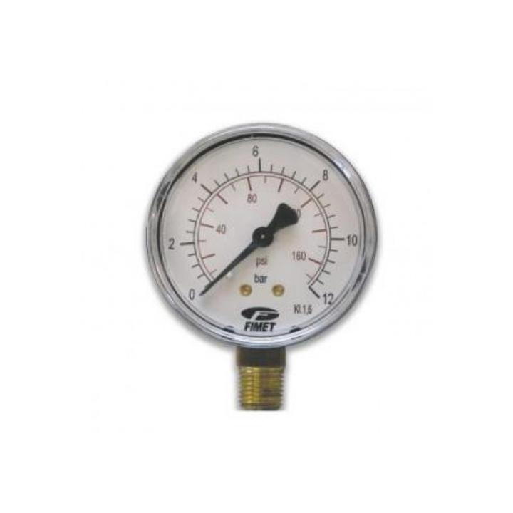 "Manometru radial D63 mm, 1/4"", 0-6 bar"