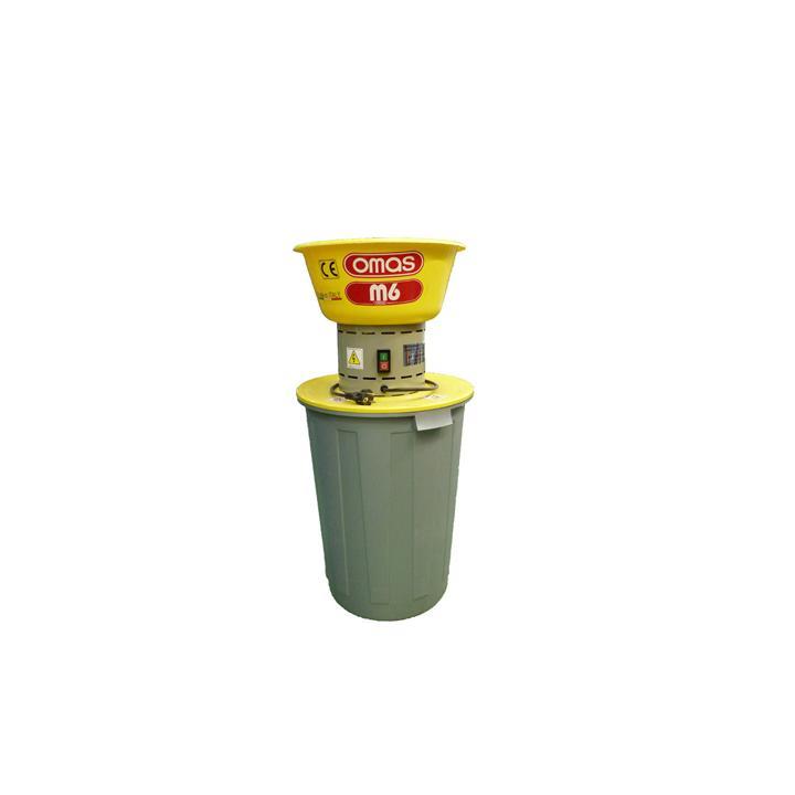 Moara de cereale Omas M6L50, 1600W, 20-350Kg/h, vas 50 litri