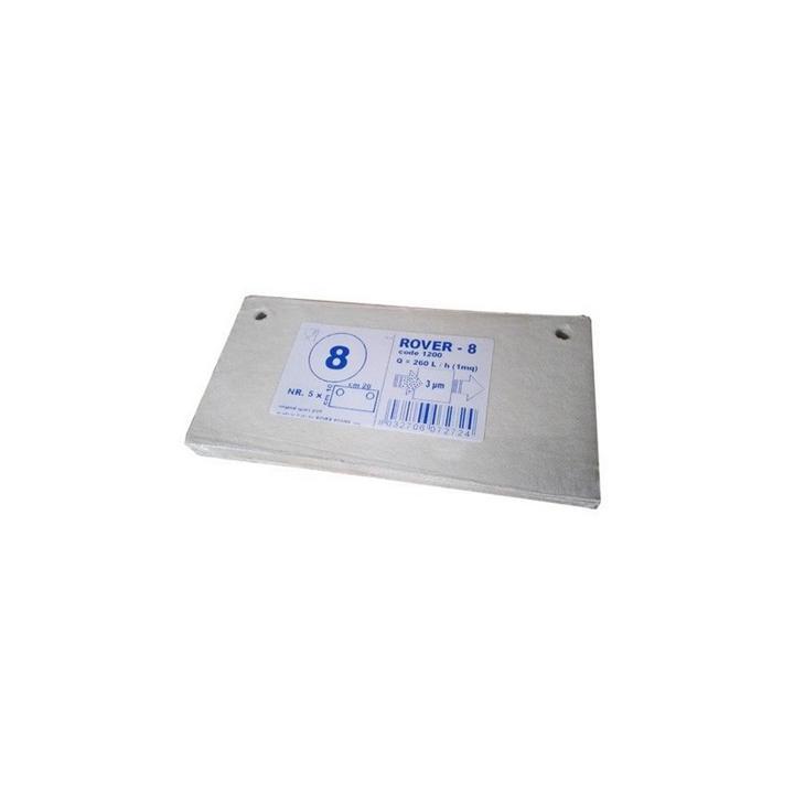 Placi filtrante 20x10 cm - Rover 8, 3 m (set 5 buc)
