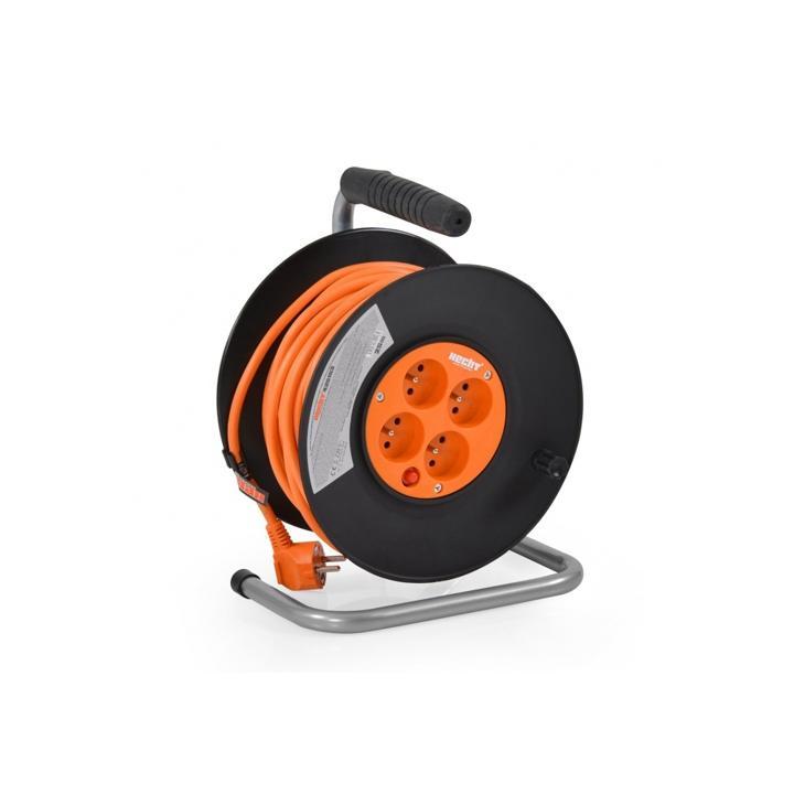 Prelungitor cablu cu tambur Hecht 420153, 20 m