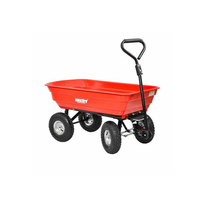 Remorca pentru tractorase de tuns iarba Hecht 52145, 250 kg