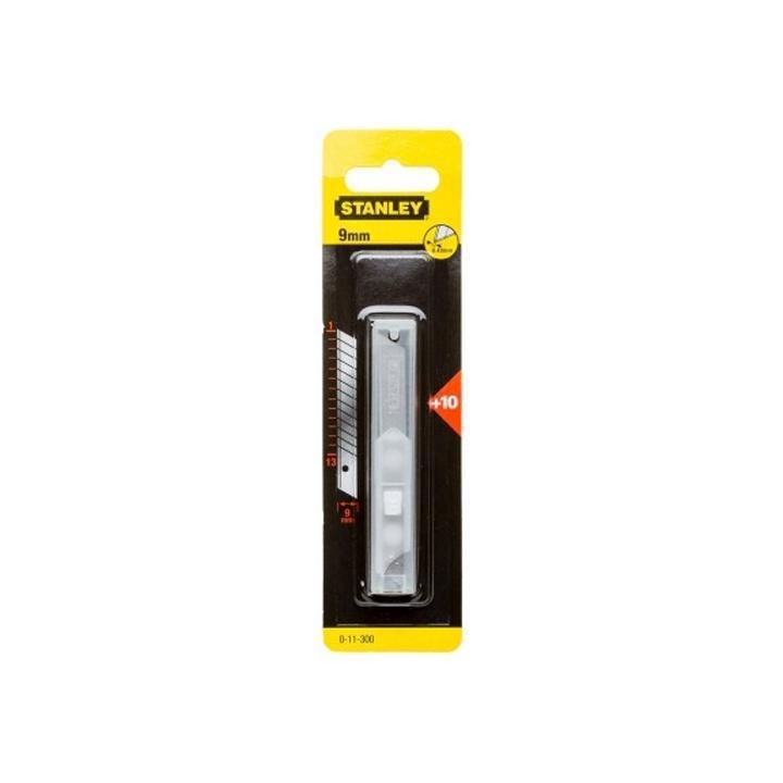 Set 10 lame cutter segmentate 9 mm Stanley 0-11-300