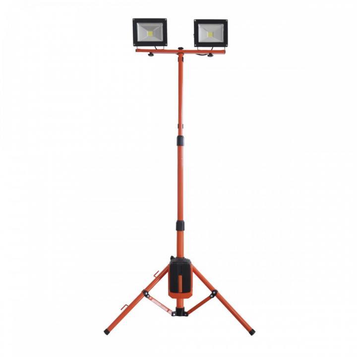 Stand 2 proiectoare cu LED Redback ED40, 2x20 W