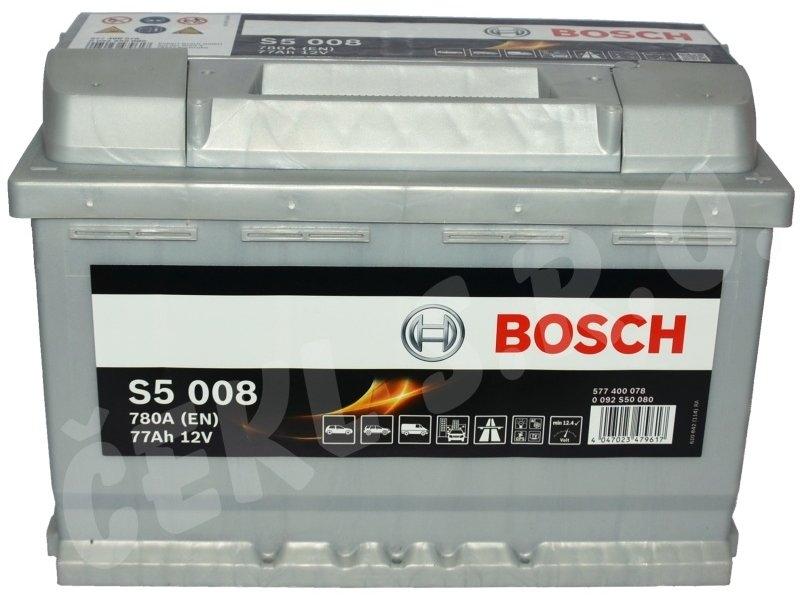 Baterie auto Bosch 77 Ah