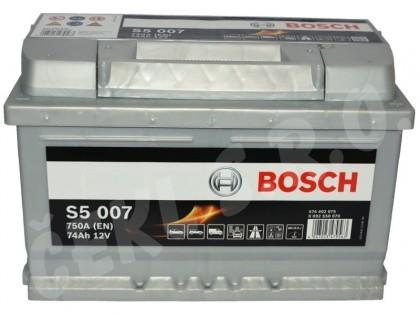 Baterie auto Bosch 74 Ah Blue