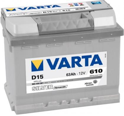 Baterie auto Varta 63 Ah Silver