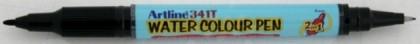 Marker 2 în 1, galben, ARTLINE Watercolor 341T