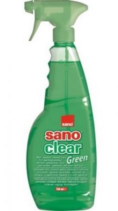 Detergent pentru geamuri, 750 ml, SANO Clear Green Trigger