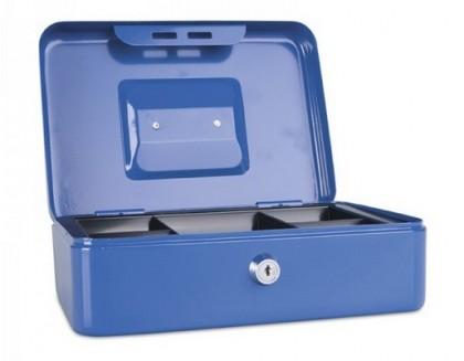 Casetă (cutie) metalică pentru bani, 250x180x90 mm, DONAU