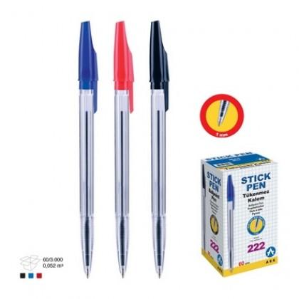 Pix fără mecanism, albastru, 60 buc/cut, ARK