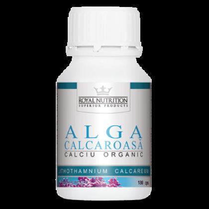 Alga Calcaroasa Calciu Organic 180 capsule