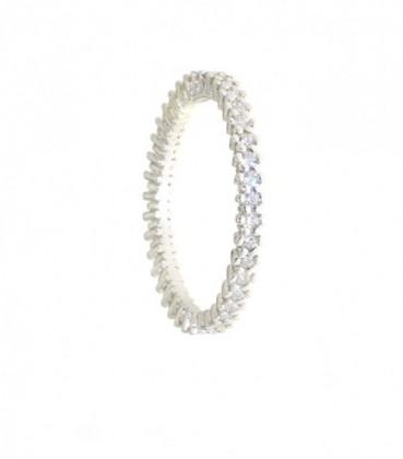 Inel argint zirconii -33104