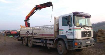 Inchirieri camioane cu hiab