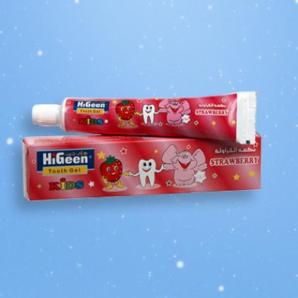 HiGeen Junior – Gel pentru dinţi