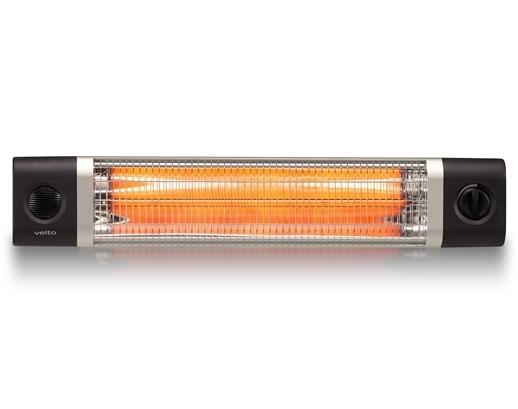 Lampa infrarosu/panou radiant VEITO CH2500 RW Carbon cu Telecomanda