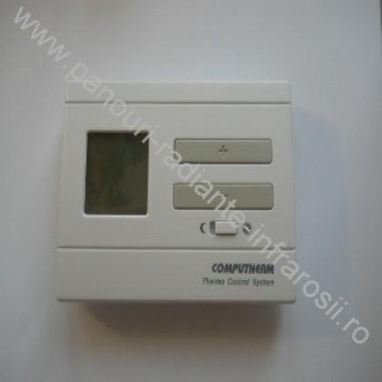 Termostat electronic cu fir neprogramabil 8A