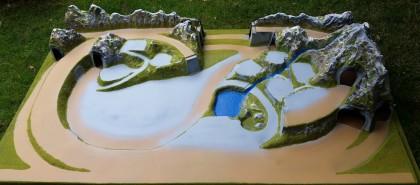 Diorama Mittenwald HO