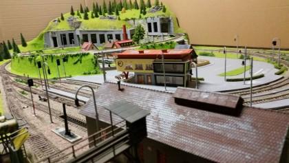 Diorama digitala construita manual HO
