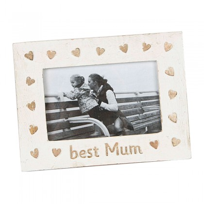 Rama foto din lemn de mango Best Mum