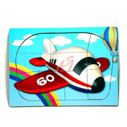 Puzzle din lemn - Avion