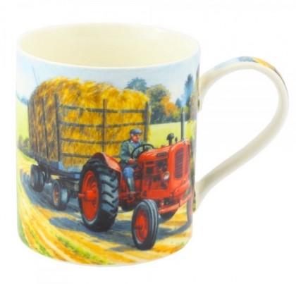Cana tractor din portelan