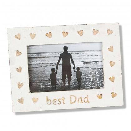 Rama foto lemn de mango Best Dad