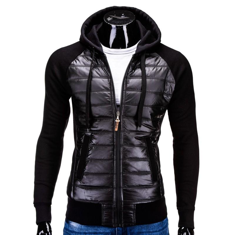 Jacheta barbati B578-negru