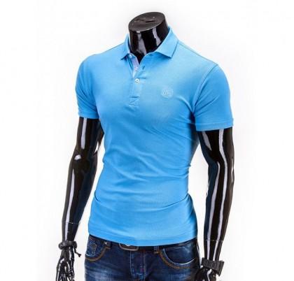 Tricou barbati polo S594-bleu