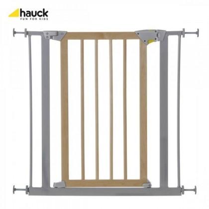 Poarta siguranta copii Deluxe Wood and Metal - Hauck