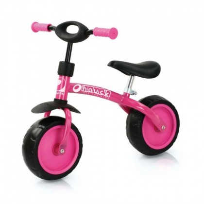 Bicicleta fara pedale Super Rider 10 - Pink - Hauck