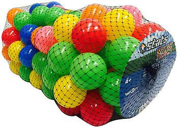 Set 500 bile plastic(9cm)