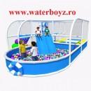 Loc de joaca de interior in forma de barca