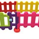 Gard plastic colorat copii