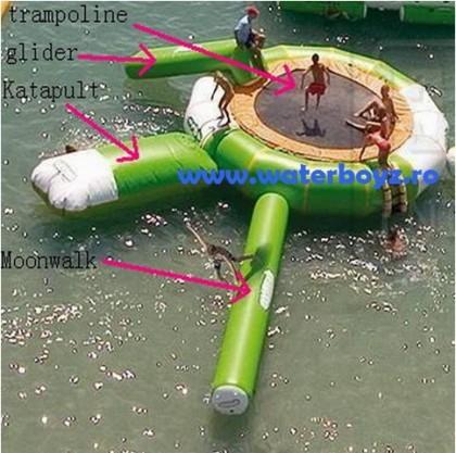 Trambulina de apa model 3