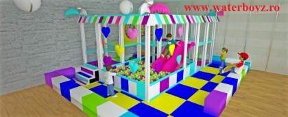 Locuri de joaca de interior – modulare