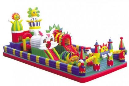 Loc de joaca gonflabil model9 11x6x4mH