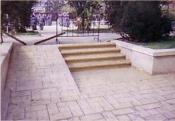 Pardoseli decorative din beton amprentat