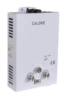 Instant pe GPL sau gaz pentru apa calda Calore TN7 + Transport Gratuit