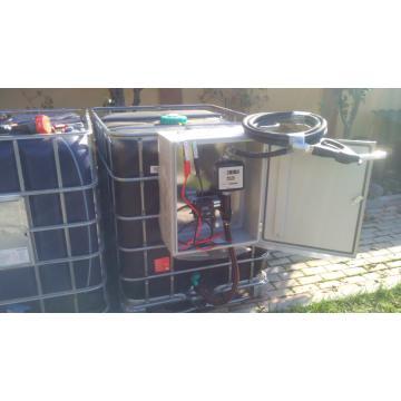 Bazin motorina cu pompa 1000 litri
